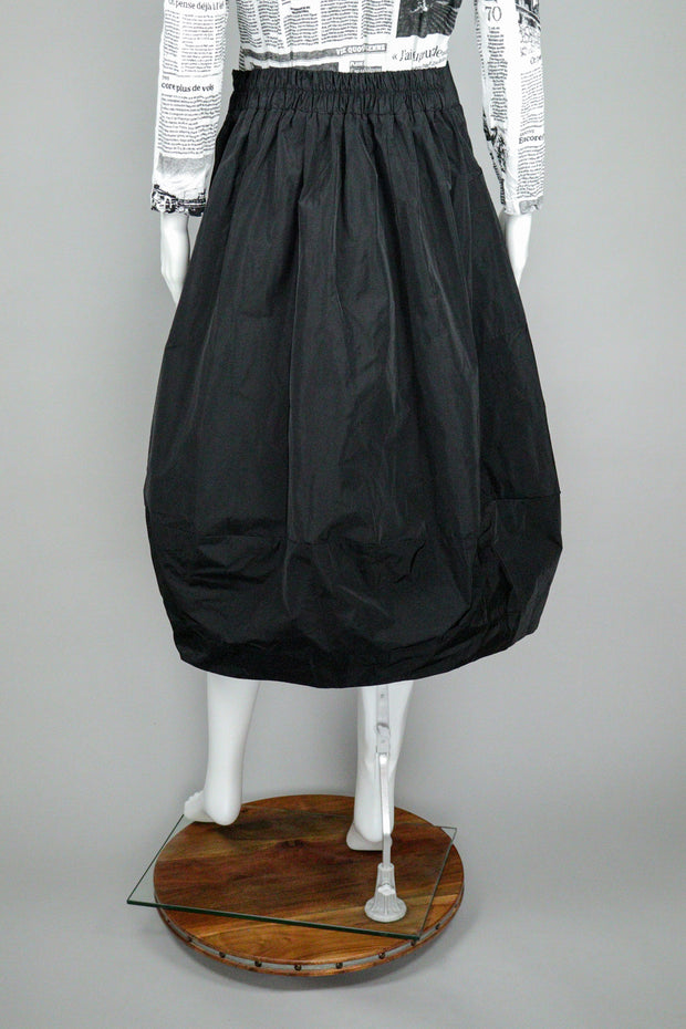 Sun Kim Black Midtown Skirt