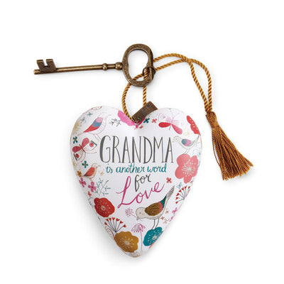 Grandma Art Heart