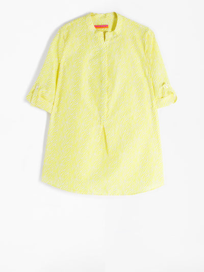 Filippa Shirt Lime Zebra