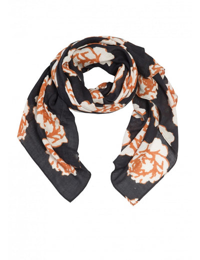 Black Rose Scarf