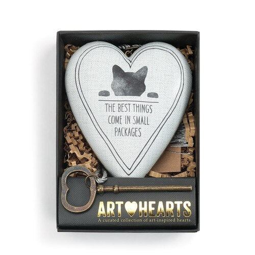 The Best Things Cat Art Heart