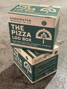 Pizza Box Bundle - 2 X Boxes Of Kiln-Dried Hardwood Stixx (5X 1) + 16 Biomass Firelighters Hardwood