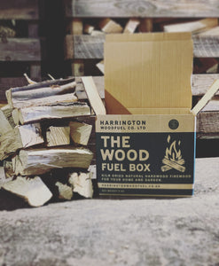 Black Friday Sale: Box Of Kiln-Dried Hardwood Standard Logs (9.5 Long)