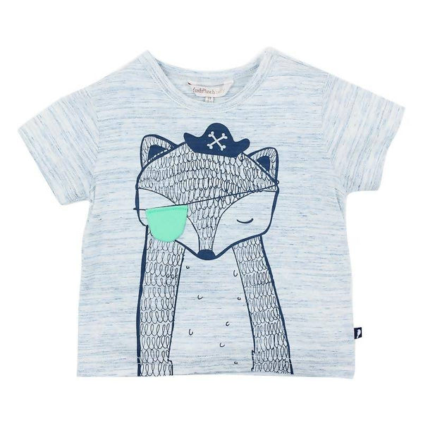 Fox & Finch Moby 'Pirate Fox' Tee