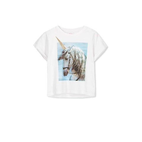 Milky Unicorn Tee - White