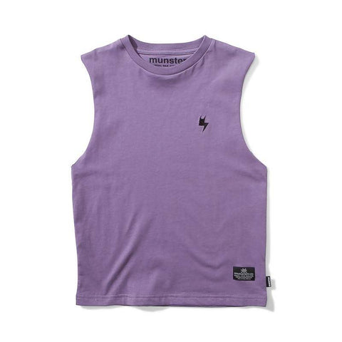 Munster Chopper Jersey SS Tee - Grape