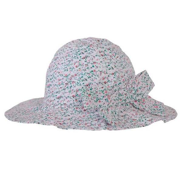 Peggy Melissa Hat in Mini Pink Floral