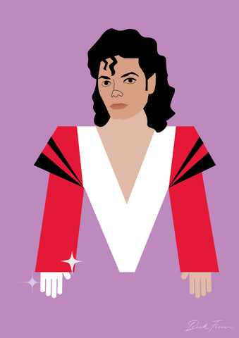 ALPHABET LEGENDS MICHAEL JACKSON
