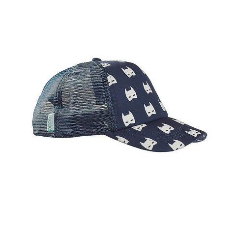 Acorn Bat Trucker Hat - Navy
