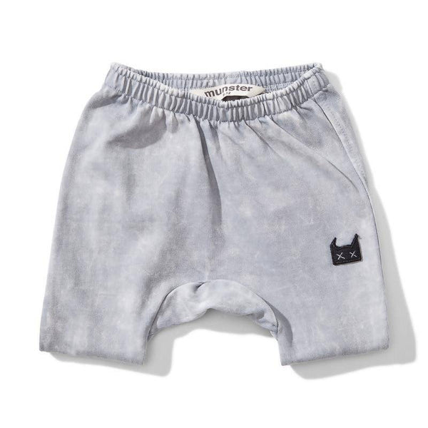 Mini Munster Spilled Milk Rugby Short - Acid Grey