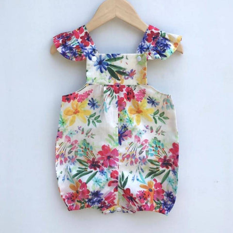 'Spring Flowers' Overalls