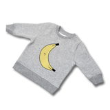 BAM!BABY Bananarama Sweater - grey