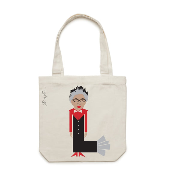 L IS FOR LEE LIN CHIN TOTE BAGS (FREE DELIVERY)