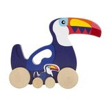 Sunnylife Push and Pull Toy Toucan