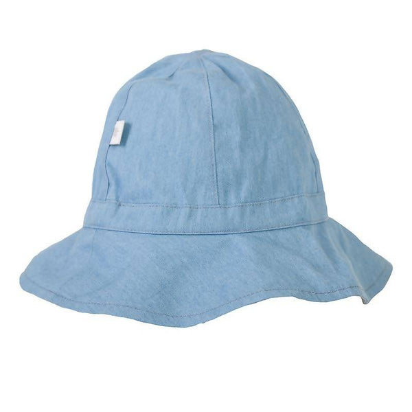 Peggy Melissa Hat In Chambray