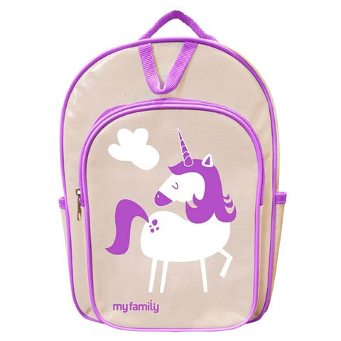 MY FAMILY Unicorn Back Pack