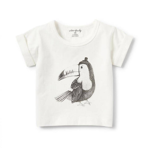 Wilson & Frenchy Toucan Rolled Cuff Tee