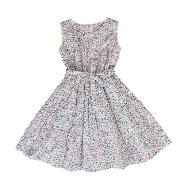 Peggy Blaze Dress in Mini Pink Floral