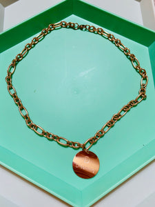 Rose Gold Plated Dreaming Necklace. Tataita. RD$ 885.