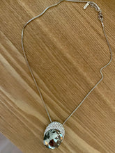 Grey Stone Necklace made with Swarovski Elements. Tataita. RD$ 1200.
