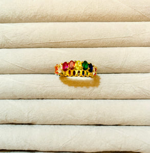 Rainbow Ring. Tataita. RD$ 1534.