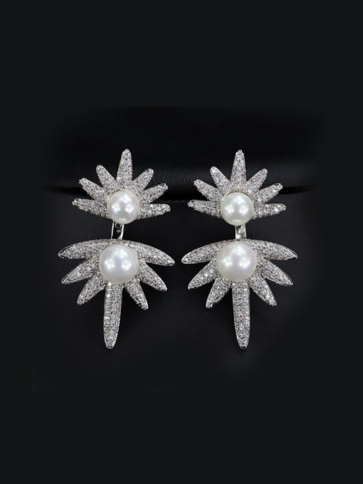 2 in 1 Pearls and Zircons. Tataita. RD$ 1274.4.