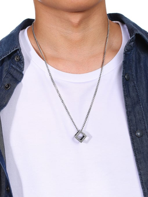 The Cube Necklace