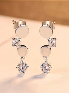 Silver Drops Earrings