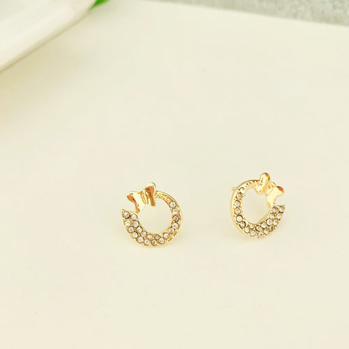Petite Butterfly Stud Earrings