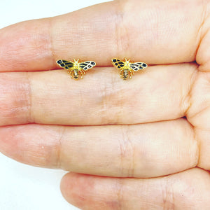 The Libelula Stud Earrings