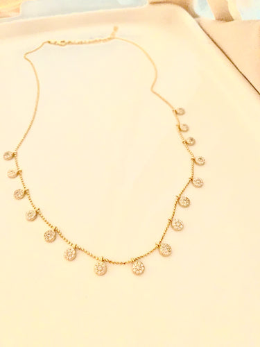 Dashes of Light Necklace