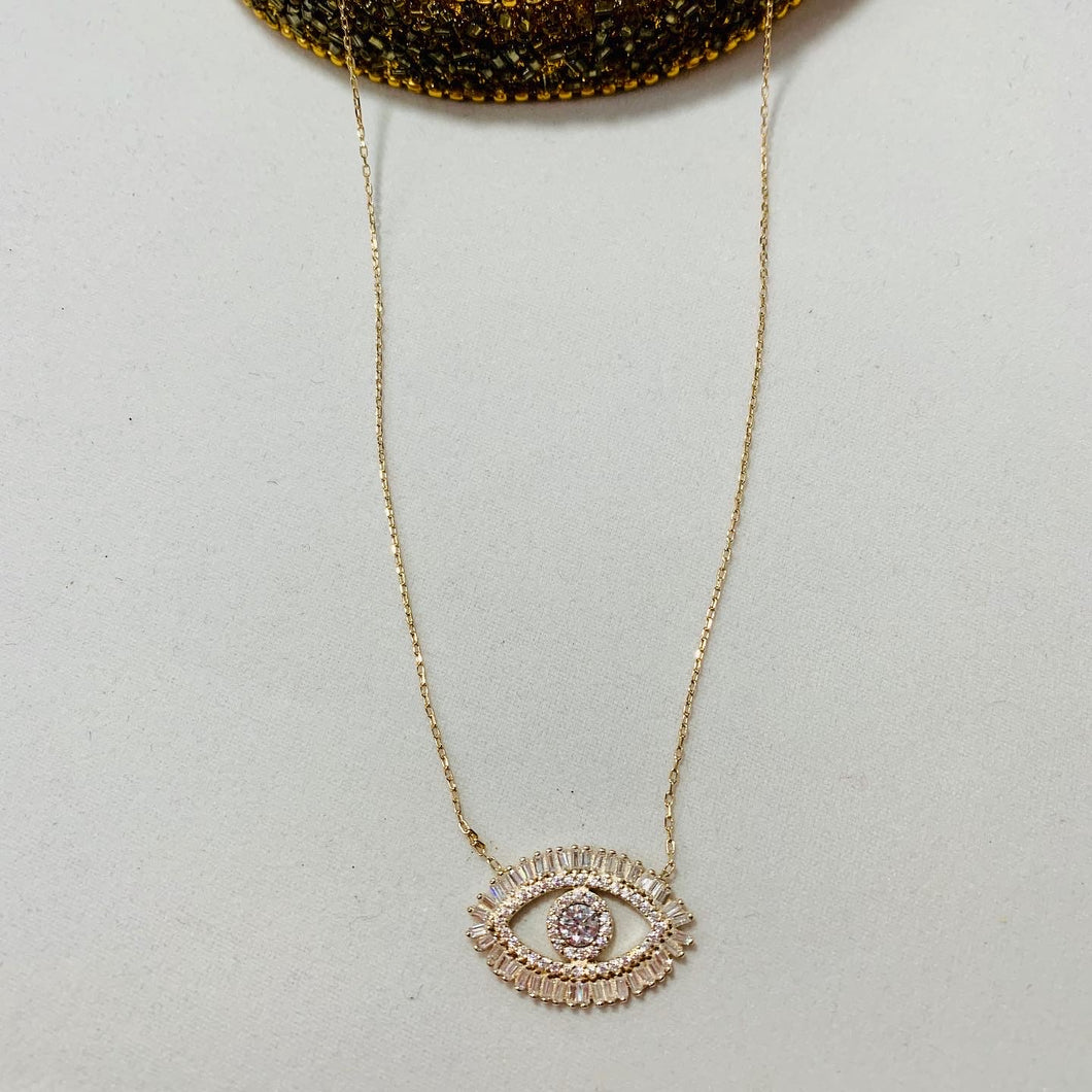 Turkish Eye Necklace. Tataita. RD$ 3000.