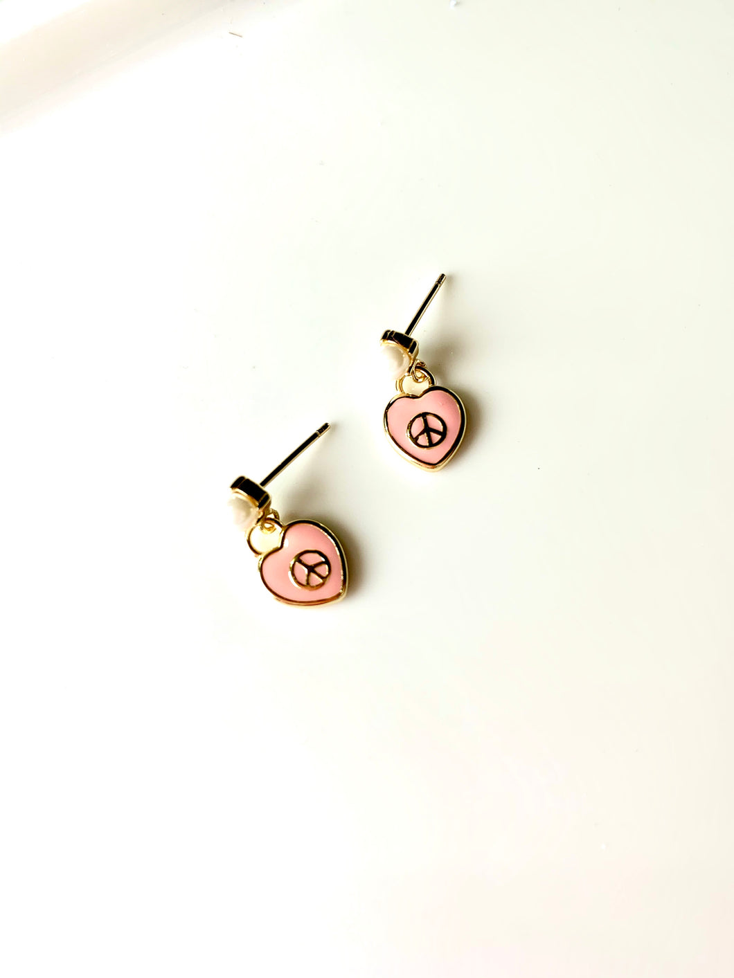 The Peace & Love Girls Earrings
