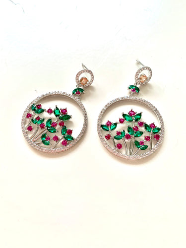 The Fancy Tulip Earrings