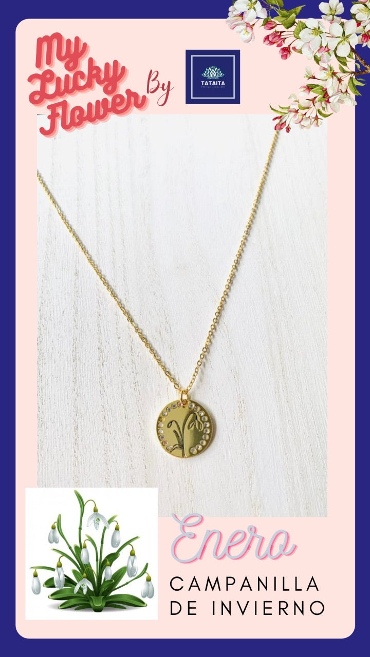January-My Lucky Necklace: Campanilla de Invierno