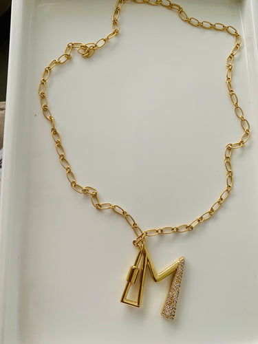 "The ""M"" Necklace"