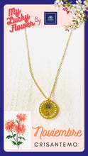 November-My Lucky Flower Necklace: Crisantemo