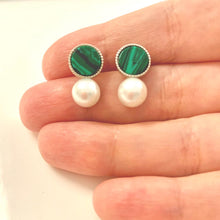 The Green Pearl Earrings