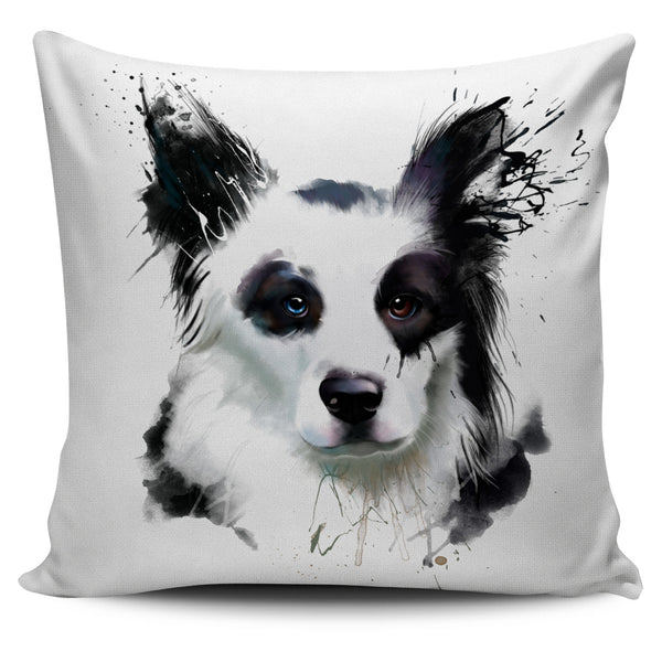 Border Collie Pillow Cover