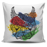 Colorbull Pillow Cover