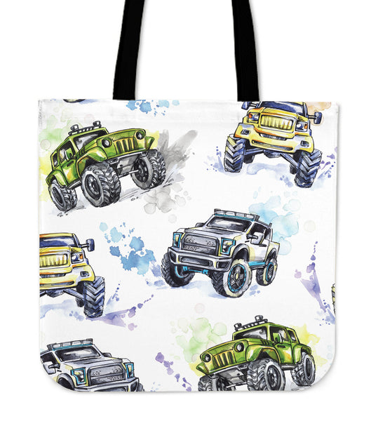 Watercolour 4x4 Tote