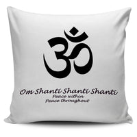 Om pillow cover