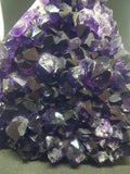 Polished Amethyst Cluster On Stand - 1.48kg