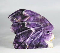 Dream Amethyst Indian Carving