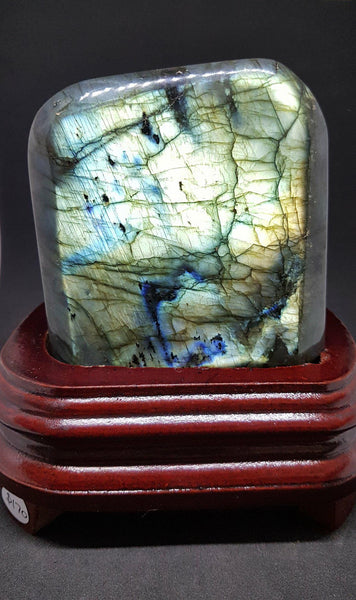 Stunning Polished Labradorite With Stand (2)