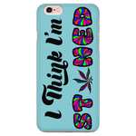 I Think I'm Stoned Phone Case - Blue