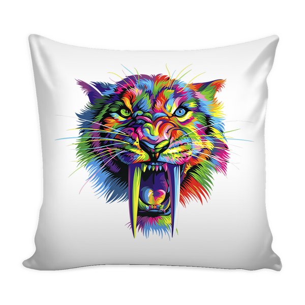 Sabertooth Pillow Cover