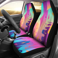 Retro Vintage 80's & 90's Fashion Car Seat Covers