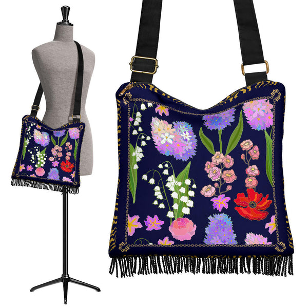 Wildflowers Boho Bag