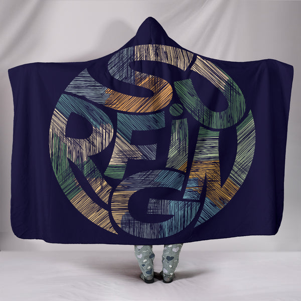Surfing Hooded Blanket